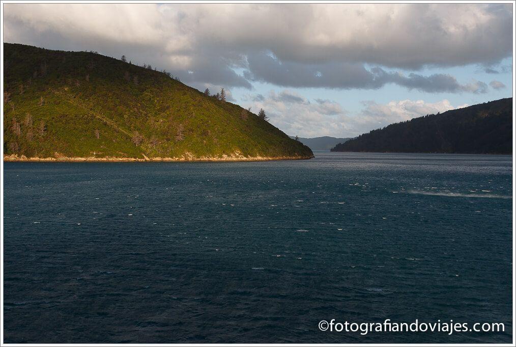 Fiordo de Malbourough Nueva Zelanda