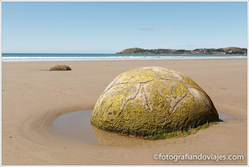 Moeraki boulders Nueva Zelanda
