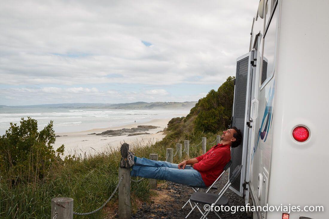 Acampar en Nueva Zelanda