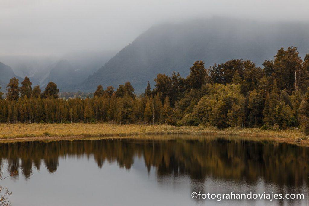 reflejo lago Matheson