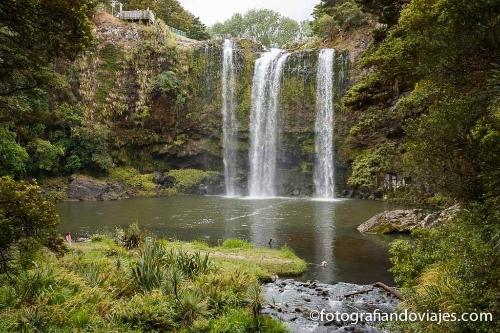 Cascadas de Whangarei Nueva Zelanda