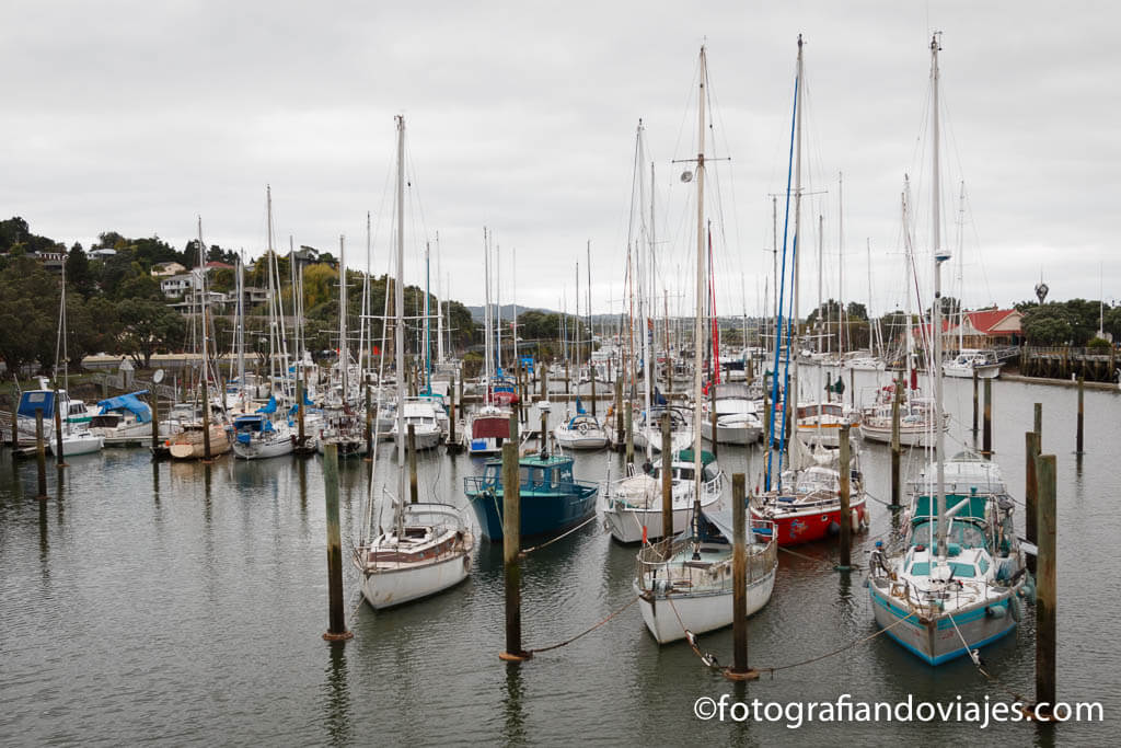 Whangarei Nueva Zelanda Town basin