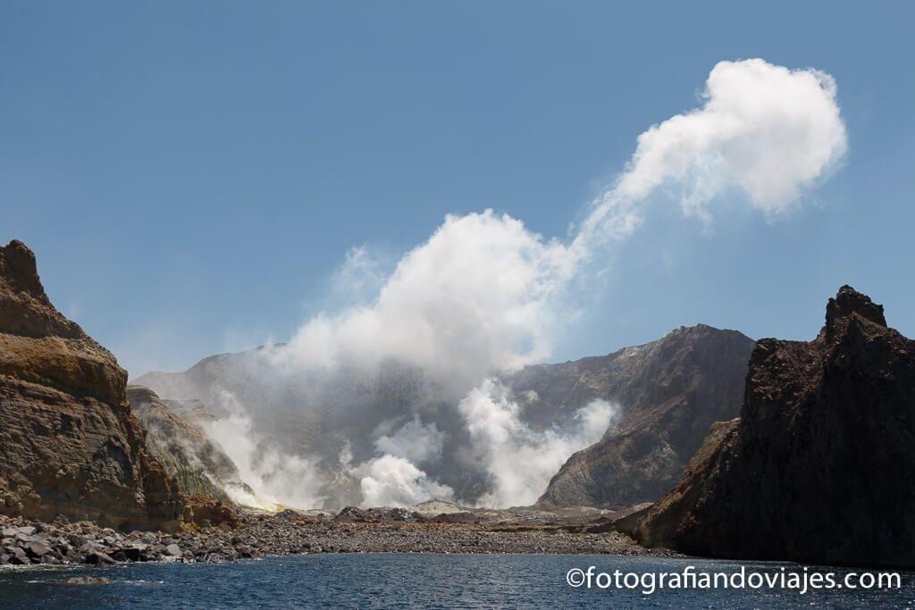 White Island Nueva Zelanda