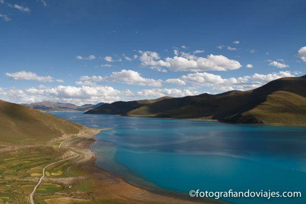 lago Yamdrok Tibet