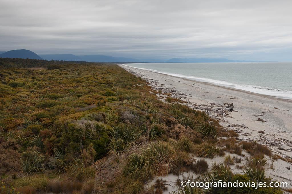 Dune walk Nueva Zelanda