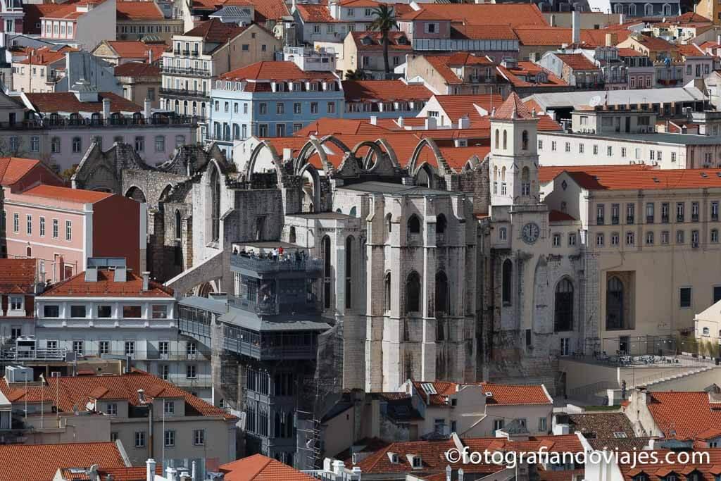 Elevador Santa Justa Lisboa Portugal