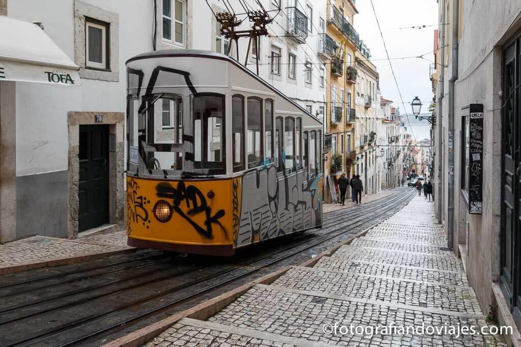 Elevador da Bica Lisboa Portugal
