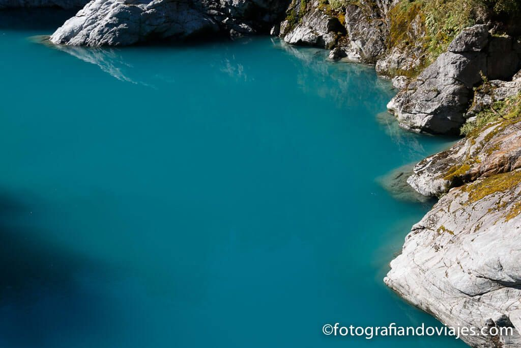 Hokitika gorge nueva Zelanda