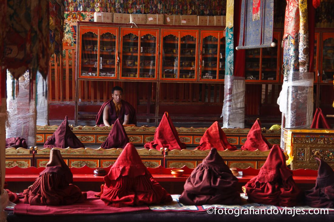 Monasterio de Tradruk Tibet