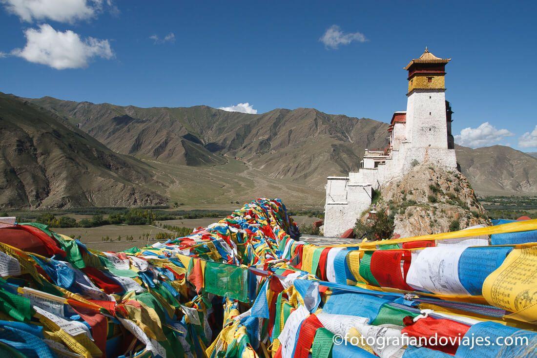 Palacio Castillo de Yumbulagang Tibet