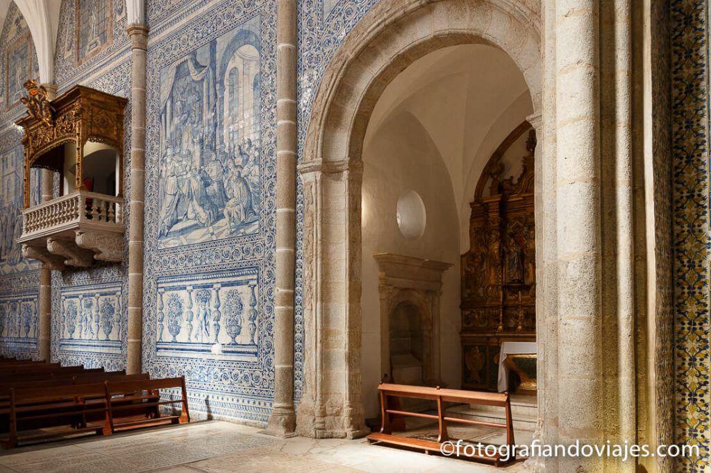 Iglesia de san Juan Evangelista en Evora