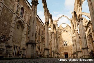 iglesia museo Do Carmo Lisboa Portugal
