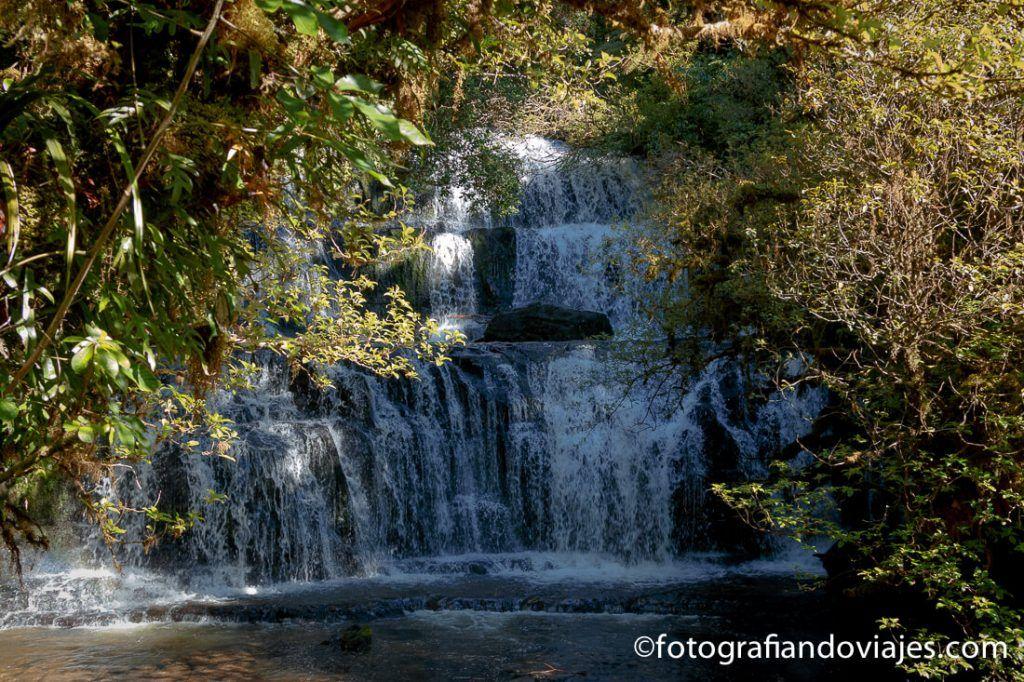Purakaunui falls Southern scenic route Nueva Zelanda