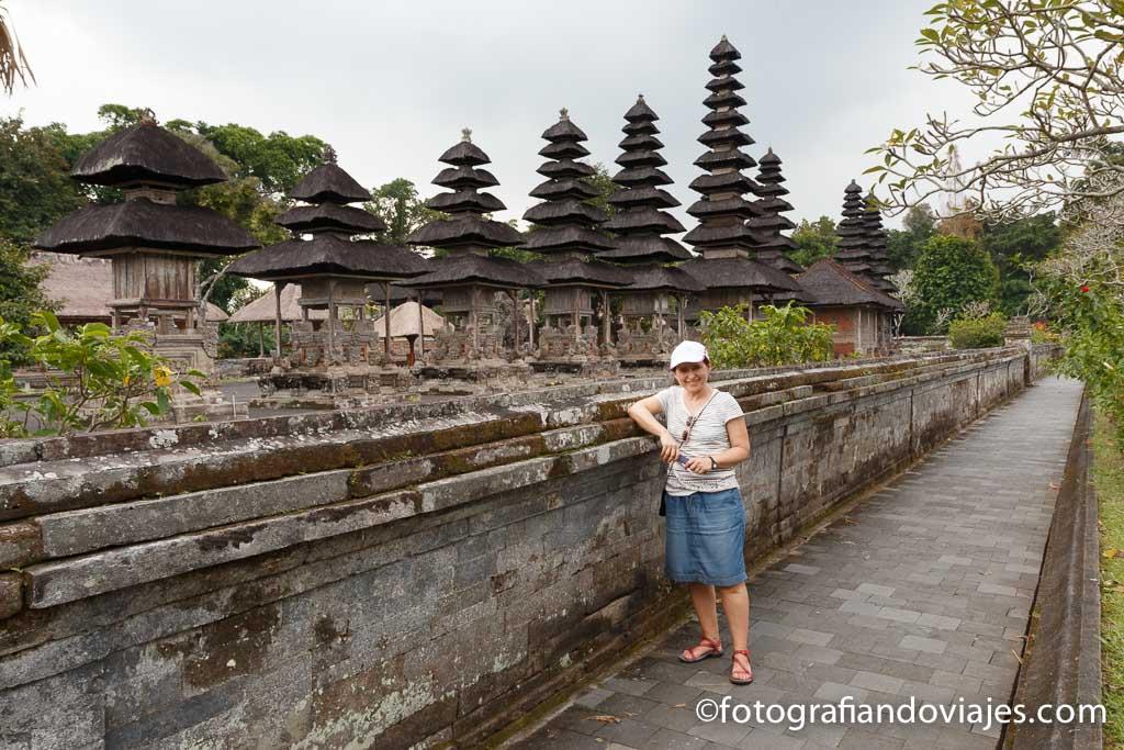 Templo Pura Taman Ayun Bali Indonesia