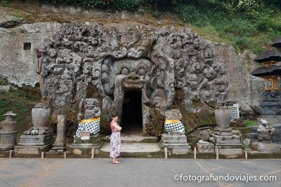 Cueva del elefante o Goa Gajah Bali Indonesia