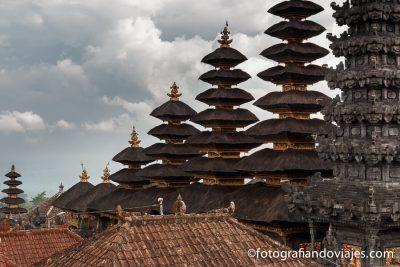 Pura Besakih o Templo madre Bali Indonesia