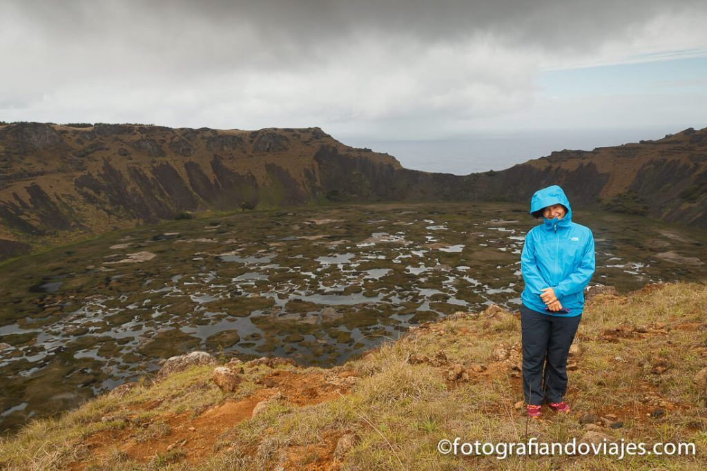 Crater del volcán Rano Kau