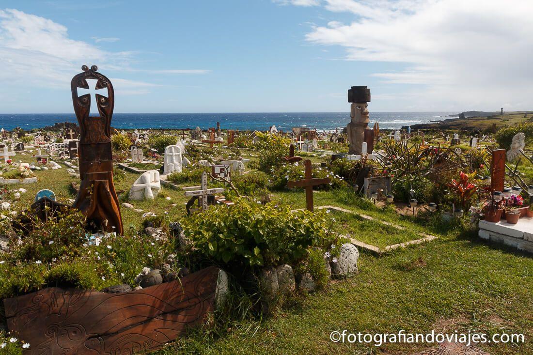 Cementerio de Hanga Roa Isla de Pascua