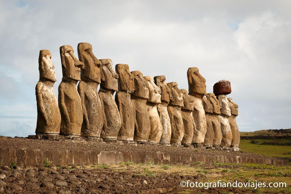 Tongariki Isla de Pascua Chile