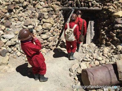 Mina de Potosi en Bolivia
