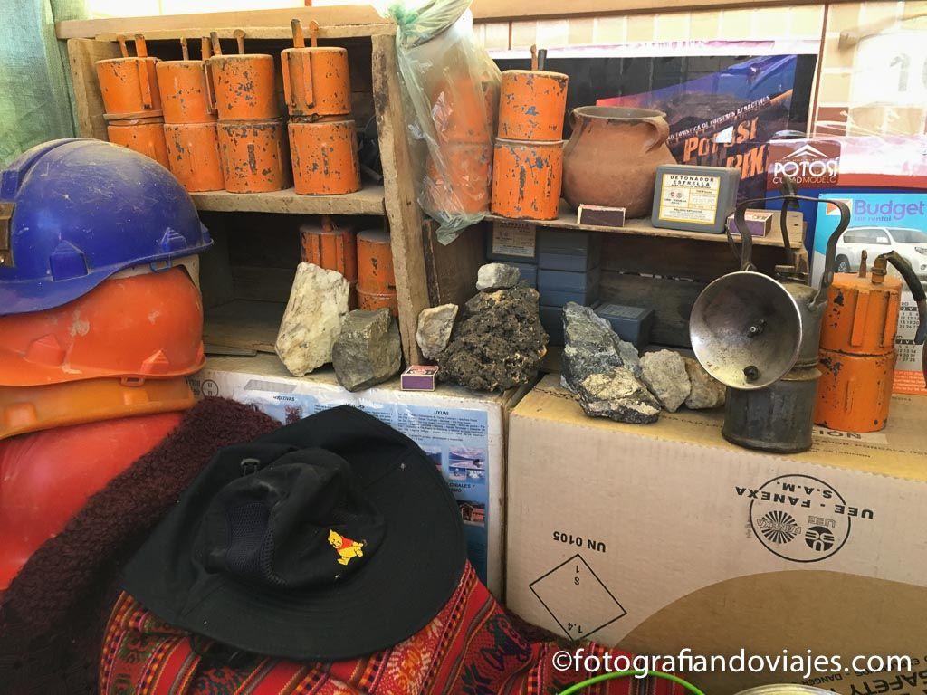material de minero