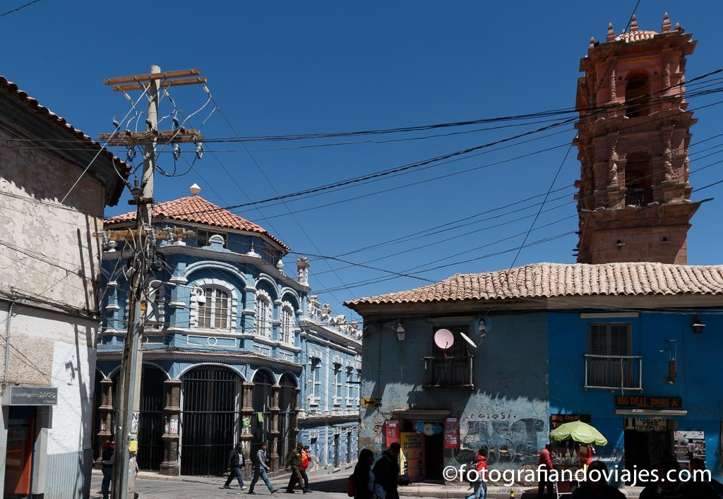 Torre de la Compañía de Jesús Bolivia