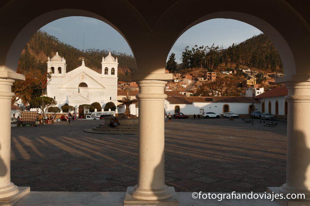 El mirador de la recoleta Sucre Bolivia
