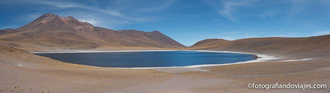 Laguna Miñiques desierto Atacama Chile