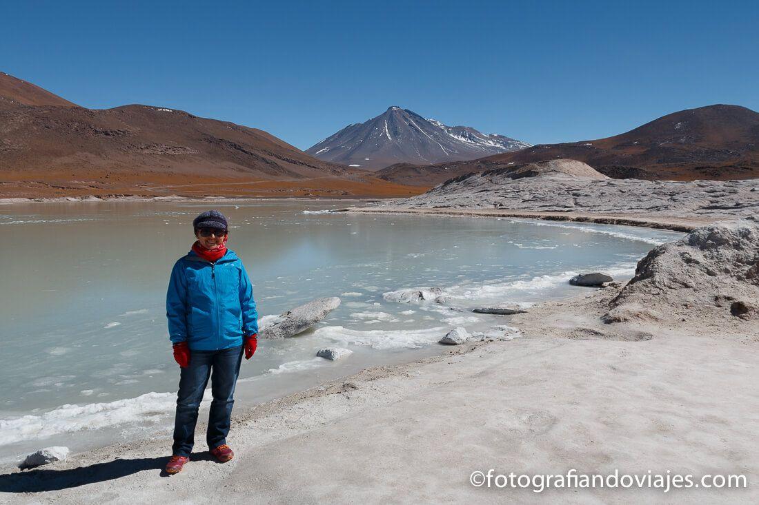 Piedras Rojas desierto Atacama Chile salar Talar
