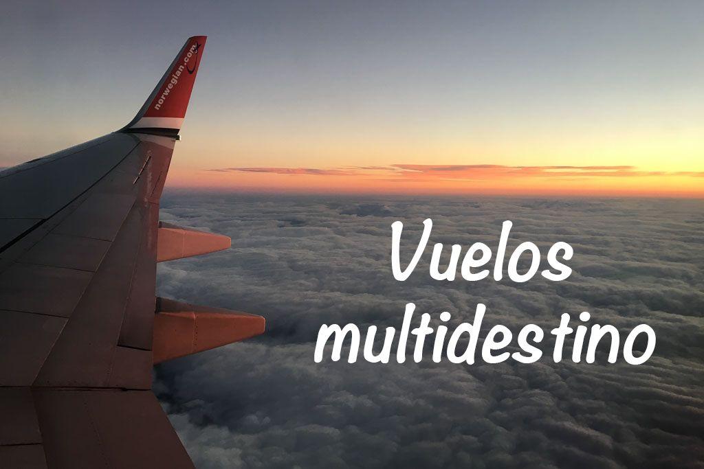 que son los vuelos multidestino