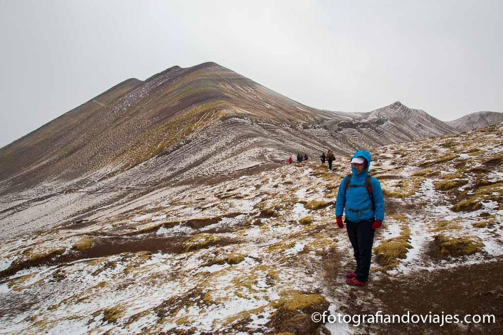 Cerro de colores o montaña arcoiris Palcoyo Peru