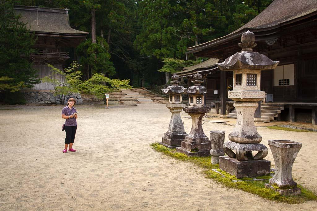 Koyasan o monte Koya Japon