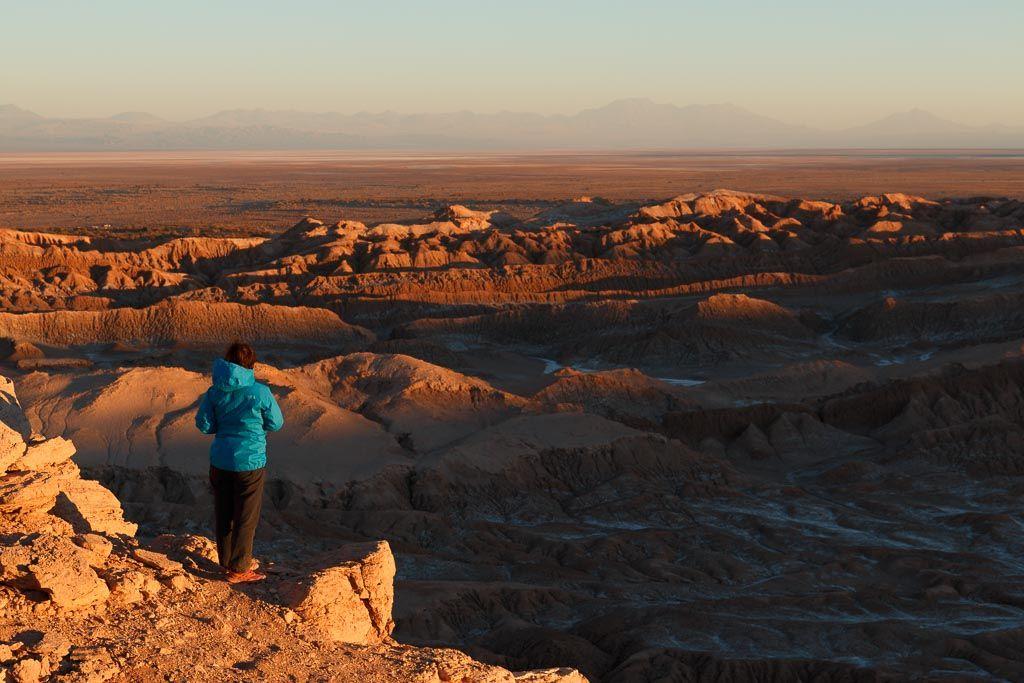 Valle de la luna Desierto de Atacama Chile