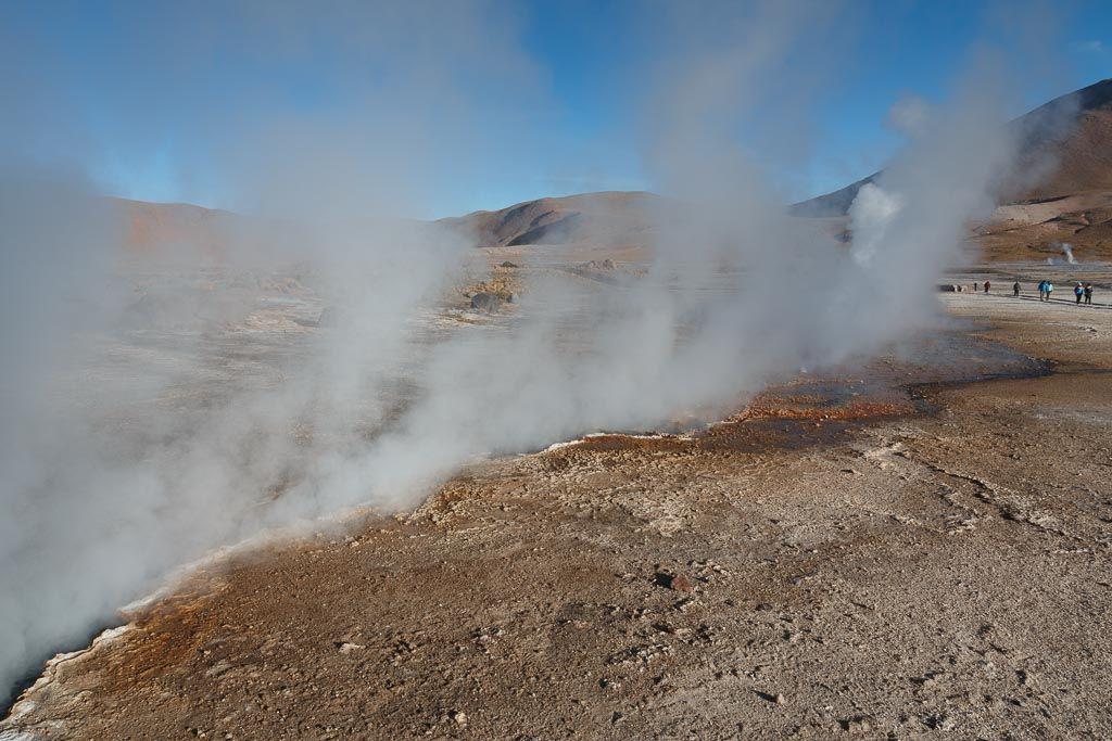 Géiseres del Tatio Desierto de Atacama Chile
