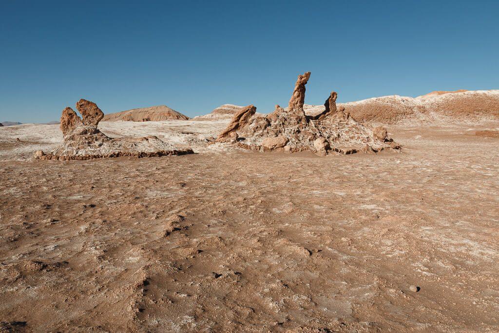 Valle de la Luna en Desierto de Atacama Chile