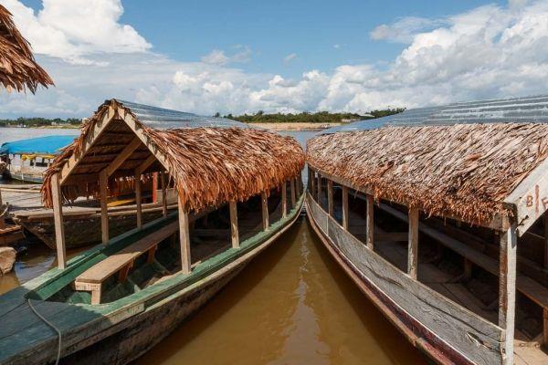Iquitos mariposario Peru