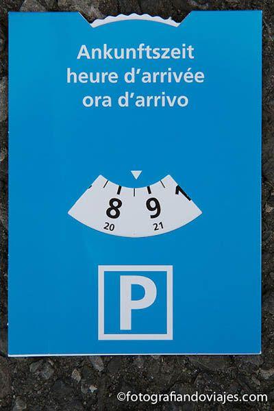 aparcar en Zurich