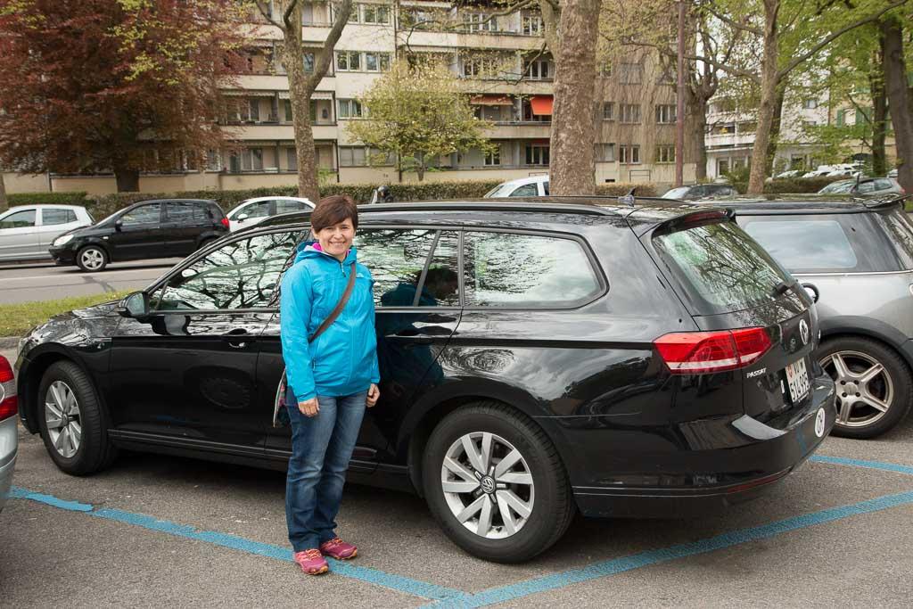 Tipos de aparcamiento en Suiza