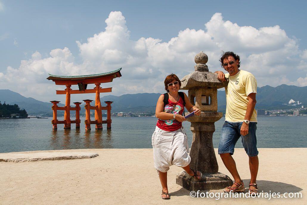 Torii del Santuario de Itsukushima