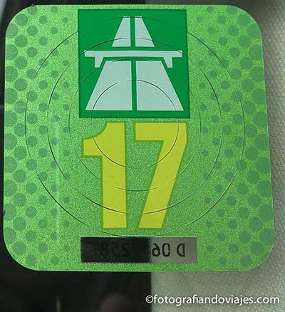 Viñeta de autopistas o Switch Highway vignette