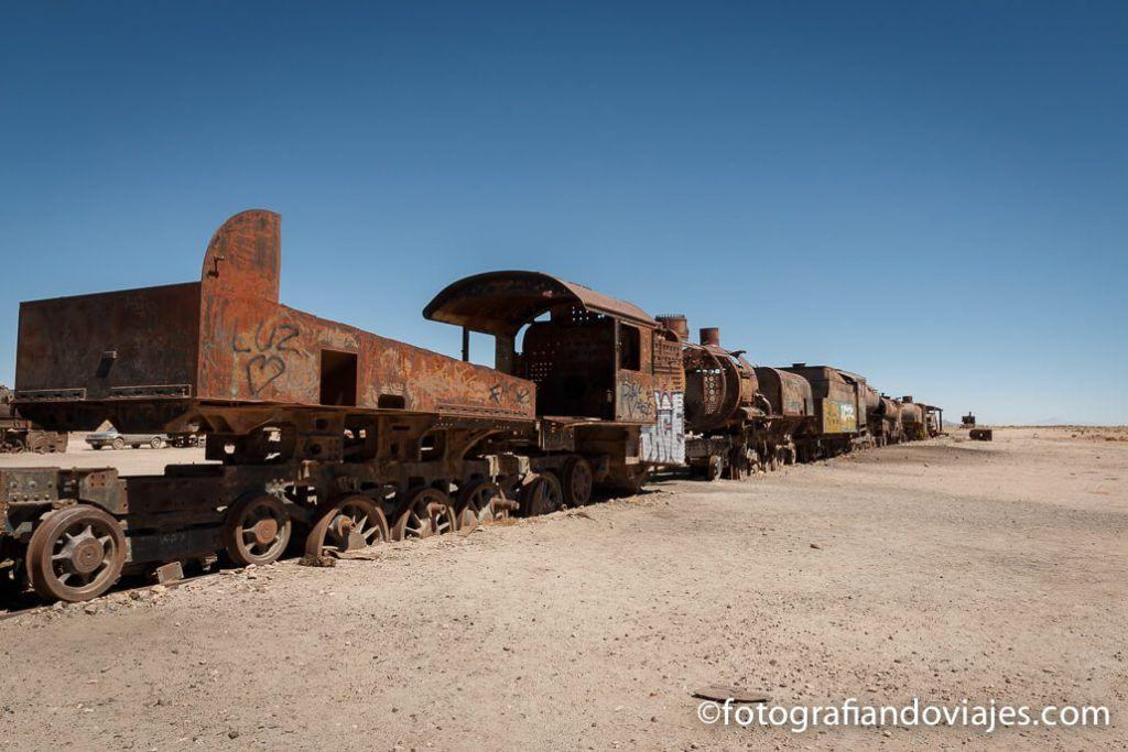 Cementerio trenes Uyuni