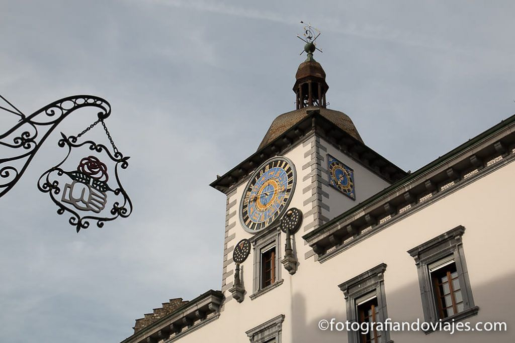 Rejoj del ayuntamiento de Sion