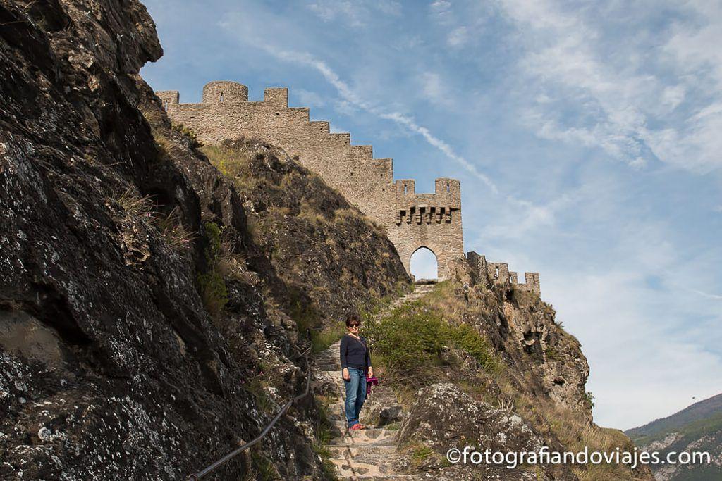 Castillo de Tourbillon Sion Suiza