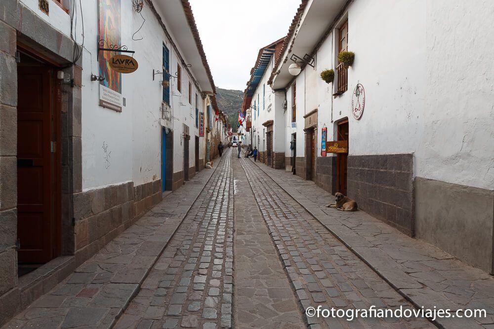 Calles del barrio de San Blas