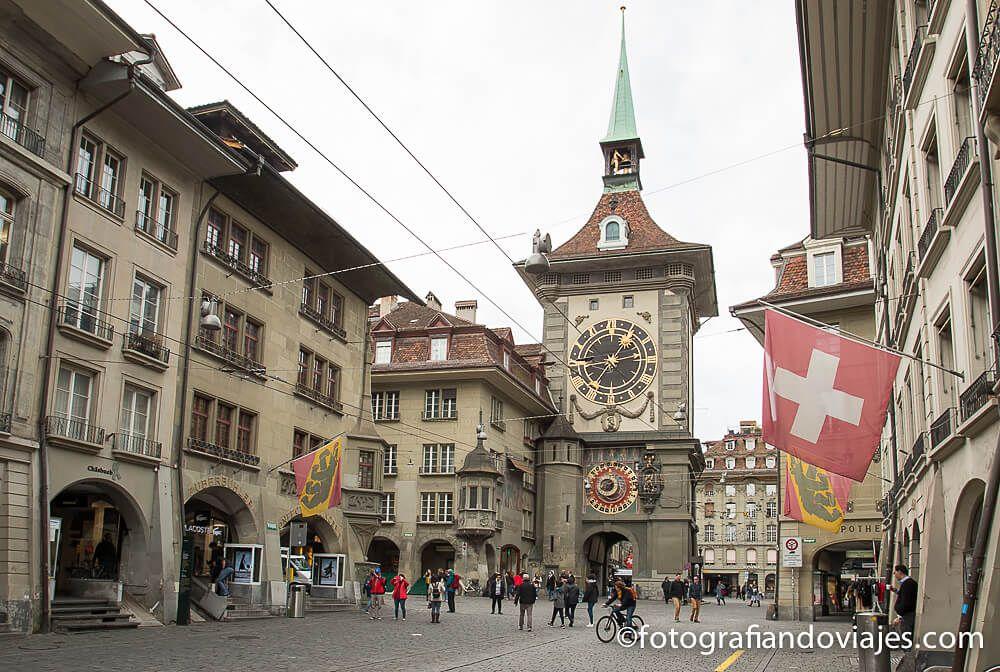 Torre del reloj de Berna que ver en Suiza