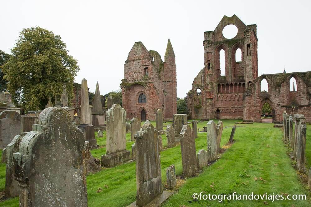 Abadia de Arbroath en Escocia