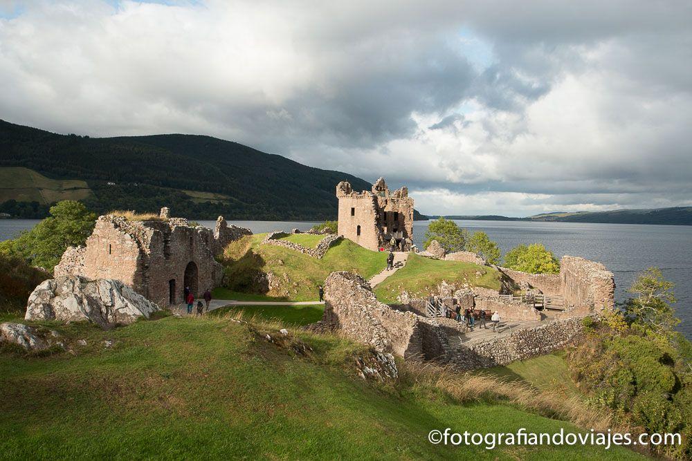 Castillo Urquhart ruta de viaje por Escocia