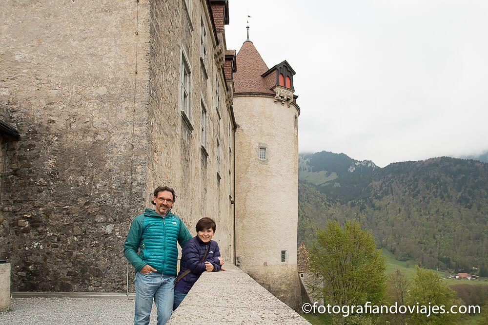 castillo de Gruyeres en Suiza