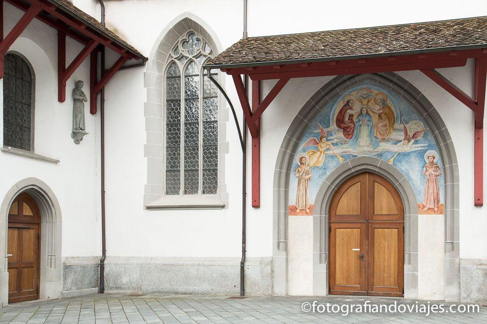 Franziskanerkirche o iglesia de los franciscanos Lucerna Suiza