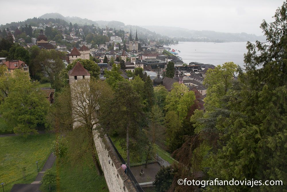 Murallas de Lucerna Suiza